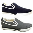 MENS CATERPILLAR CAT JED SLIP ON CANVAS CLASSIC CASUAL PUMPS TRAINERS SIZE 6-12