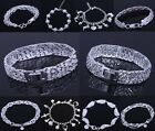wholesale Fashion High quality 925jewelry SILVER solid Bracelet/bangle+Gift Box