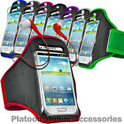 SPORTS ARMBAND POUCH CASE STRAP AND EAR BUDS FOR VARIOUS SAMSUNG GALAXY MOBILES