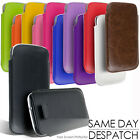 LEATHER PULL TAB CASE COVER POUCH FOR SAMSUNG GALAXY S4 S IV i9500