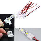 10pcs Connector Joining Joint Clip Jointer with wire for 8mm LED Strip 3528 2835