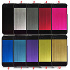 Brushed Aluminum 2 Piece Case Cover Skin for Apple iPhone 4 4S 4G