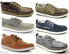 MENS CATERPILLAR CAT ALEC SUEDE LACE DECK BOAT MOCCASINS BOOTS SHOES SIZE 6-11