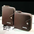Stylish Men's High Quanlity Zipper Wallet Pocket Card Clutch Cente Bifold Purse