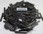 Внешний вид - LEGO - 1x8 Tiles Black - 4162 Floor Smooth Thin Flat Finishing Plate Bulk Lot