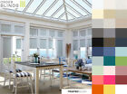Perfect Fit Blackout Roller Blinds 22 Colours for UPVC Windows & Conservatories