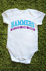 Hammers since day one Baby Grow Vest  West Ham gift cute Babies L469