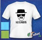 HEISENBERG, WALTER WHITE , BREAKING BAD, T-shirt,  S-XL, 3 colours, 100% Cotton!