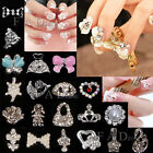 10pcs 3D Shiny Crystal Rhinestone Alloy Design Nail Art Glitters DIY Decoration