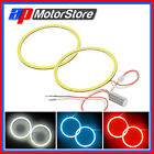 2X Led Cob Ring - Angel Eye Bmw Style Halo Head Light Bulbs Super Bright Car Smd
