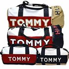 Tommy Hilfiger Duffle Bag Set Large And Mini Unisex Duffel Navy Travel Gym
