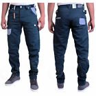 BMWT Men's ETO Blue Tapered Chino Jeans Waist Size 28 30 32 34 36 38 40 42 EM431
