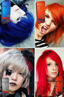 Hair COLOR Permanent Hair Cream Dye Punk Rock Glam Red Blue Orange Grey AIRCOLOR