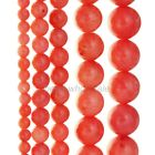 15.5'' Strand Natural Pink Coral Gemstone Round Loose Beads Findings 4-9mm