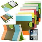 For Apple iPad 4 New iPad 3 2 Hybrid Leather Wallet Flip Pouch Case Stand Cover