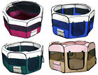 """New 36""""x22"""" Dog/Cat Playpen Portable Crate Tent + Free Carrying Bag"""