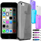 Stylish Tough Soft Silicone Gel Case for NEW iPhone 5C Cover & Screen Protector