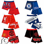 Boys Official Football Club Boxer Shorts, 6 Football Clubs Sizes 5 - 12 Years