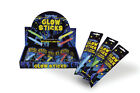 Henbrandt Glow Stick s 15 cm w/ Hook Lanyard  Disco Party Yellow Green Red Blue