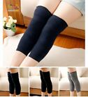 Men Women Knee Support Elastic Arthritis Thick Wool Rabbit Fiber Leg Warmers