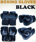 New MTN Black Gearsmith PU Professional Style Boxing Training Gloves