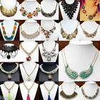 Hot Selling New Fashion Mixed Style Womens Girls Bib Statement Eleglant Necklace