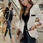 Fashion Women's OL Suit Casual Business Blazer Jacket Outwear tops Coat