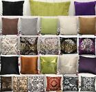 24 LUXURY Square Velvet Cushion Covers Throw Pillow Cases Bed Sofa Home Decals