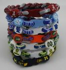 Titanium Bracelet College Football Baseball Basketball Sports Bracelets 8.5""