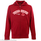 Boston Red Sox Sweatshirt Zipper Hoodie Jacket Hood Color RED 2013 World Series