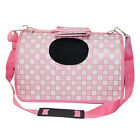 New Dog Cat Puppy Pink Square  Folding Oxford Travel Purse Carrier Bag 3 Size