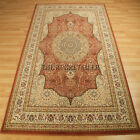Wool Classic Rugs In Terracotta - 34P A Traditional Wool Pile Wilton Rug Large