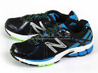 New Balance M780BB3 2E Black/Blue 2013 Breathable Sports Running Sneakers NB
