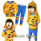 "2pc Vaenait Baby Kids Boy Girl Christmas Clothes Sleepwear Pajama Set""Candy Car"""