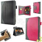 "caseen All-New Kindle Fire HD 7"" Inch Tablet 2013 Leather Case Smart Cover"