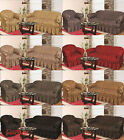 Large Jacquard Sofa Covers for 1, 2 & 3 seater Settee / Alternate to Sofa Throw