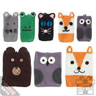 Assorted Iphone And Ipad Covers Phone Case - Wool Knitted Novelty Animal Designs