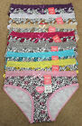Gift LoT 1, 6 or 12 Fancy Polka Dot Angel Lace Bikini Cotton Panty S/M/L
