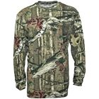 NEW Mossy Oak Breakup Infinity Mens Long Sleeve Camouflage Hunting T-Shirt L XL