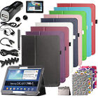 Folio PU Leather Case Cover for Samsung Galaxy Tab 3 10.1 10 inch P5210 / P5200