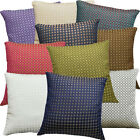 10+Colors Cotton Blend Checker Iridescent Cushion Cover/Pillow Case Custom Size