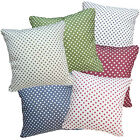 Polka Dot Upholstery Cotton Blend Material Cushion Cover/Pillow Case Custom Size