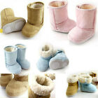 Warmly Baby Boy Girl Infant Toddler Winter Down Thicken War Fur Shoes Snow Boots