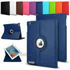 360 Rotatable Smart Leather Stand Sleep Wake Up Case Cover  for Apple iPad Air 5