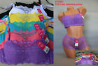 Lot 1 3 or 6 Padded Plain Sexy Lace Cover Underwired 32 34 36 38 40 B/C Cami Bra