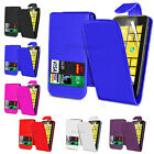 NEW LEATHER FLIP CASE COVER FOR NOKIA LUMIA 520 & FREE SCREEN PROTECTOR