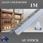 1M  Alloy channel 5630 LED Bar Light Cool Warm White Cabinet Kitchen Bathroom