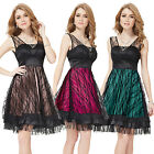Vintage Short Cocktail Party Prom Bridesmaid Dresses 03192 Size 8 10 12 14 16 18