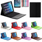 Wireless Bluetooth Keyboard Stand Folio Leather Case Cover For Apple iPad Air