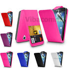 NEW SAMSUNG GALAXY S4 I9500 I9505 QUALITY LEATHER FLIP CASE COVER & SCREEN GUARD